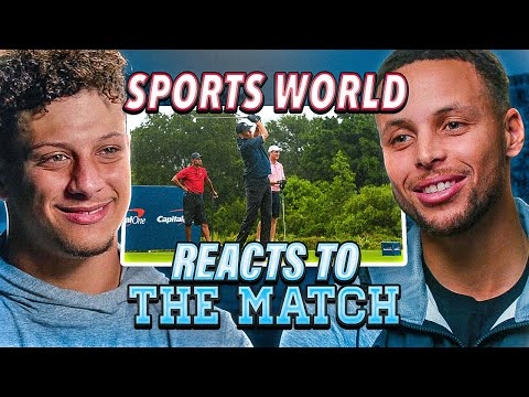 BEST reactions to The Match (Tiger and Manning vs Brady & Phil)