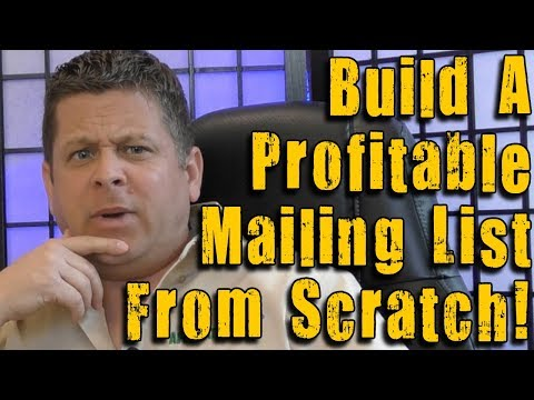 How To Build An Email List From Scratch – List Building And Email Marketing Tips