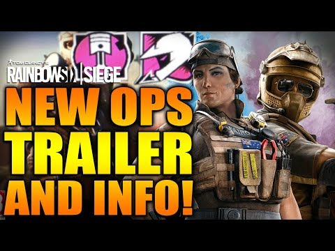 Rainbow Six Siege - In Depth: NEW DLC OPS TRAILER & INFO - Gridlock & Mozzie