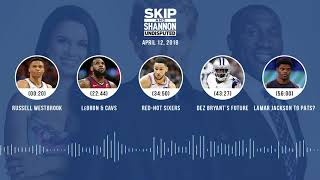 UNDISPUTED Audio Podcast (4.12.18) with Skip Bayless, Shannon Sharpe, Joy Taylor | UNDISPUTED thumbnail