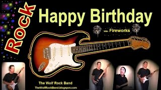 Happy Birthday Song Rock Version – Happy Birthday To You From The Wolf Rock Band