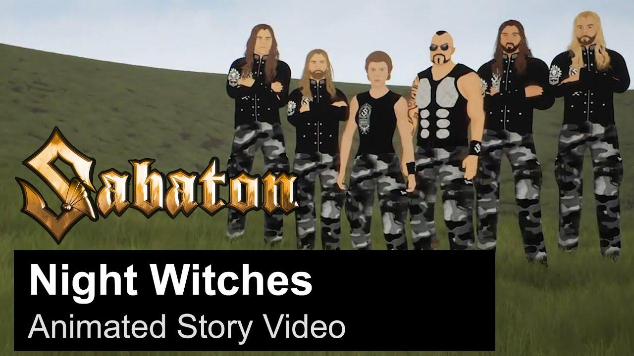 SABATON   Night Witches Animated Story Video