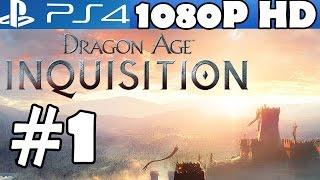 Dragon Age Inquisition Walkthrough Part 1 Gameplay Let