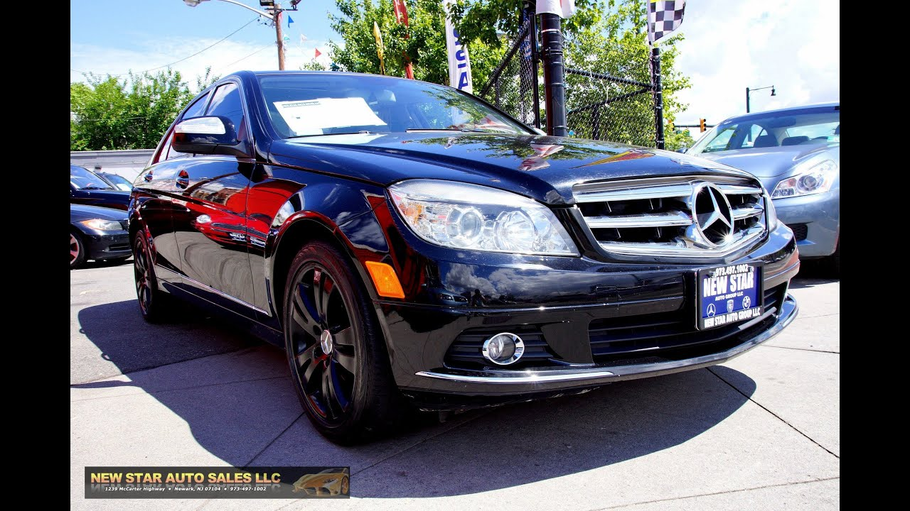 2008 mercedes benz c300 4matic sport youtube. Black Bedroom Furniture Sets. Home Design Ideas