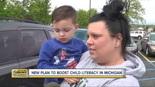New plan to boost child literacy in Michigan
