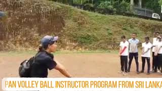 Japan volleyball coach training programs sri lanka