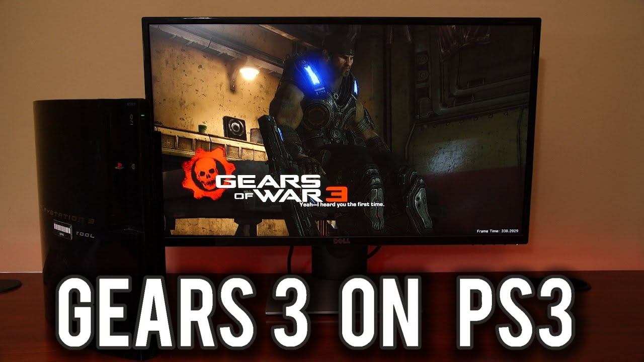 I played Gears of War 3 on the PlayStation PS3... | MVG
