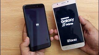 Xiaomi Redmi 4 Vs Samsung J7 Prime SpeedTest Comparison I Hindi