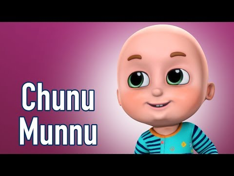 Chunu Munnu The Do Bhai - Hindi Rhymes | Poems for kids in h