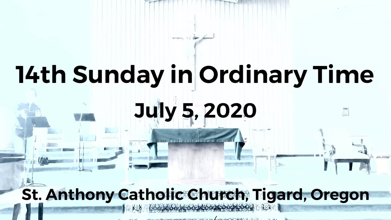 14th Sunday in Ordinary Time_Live Stream Mass