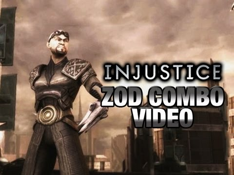 INJUSTICE: Zod Combo Video by Maximilian