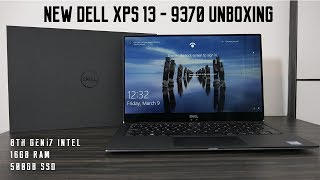 New 2018 Dell XPS 13 9370 Unboxing | Is it as good in real life?