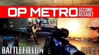 Battlefield 4 Operation Metro 2014 Rush RAW Gameplay - Second Assault DLC