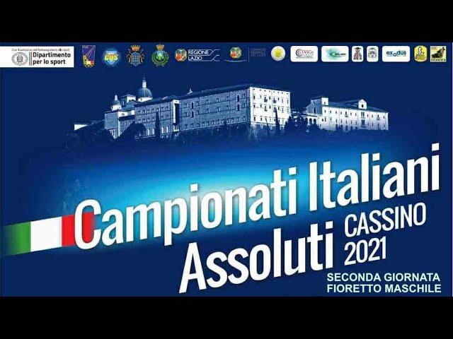 Campionati italiani Assoluti Cassino 2021