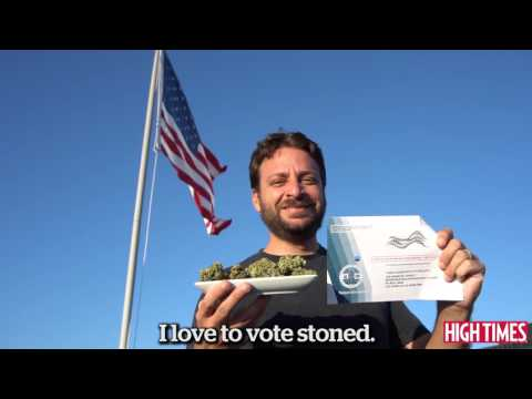 Roll to the Polls 2016 (High Times Voter PSA)