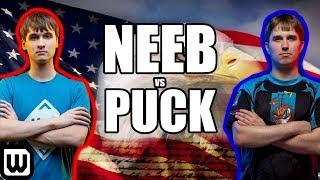 Starcraft 2: Neeb vs puCK - ALL AMERICAN PROTOSS!