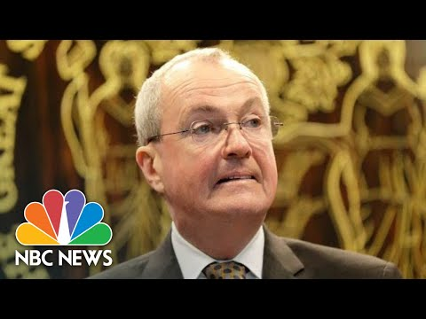 NJ Gov. Phil Murphy Holds Coronavirus Briefing | NBC News (Live Stream Recording)