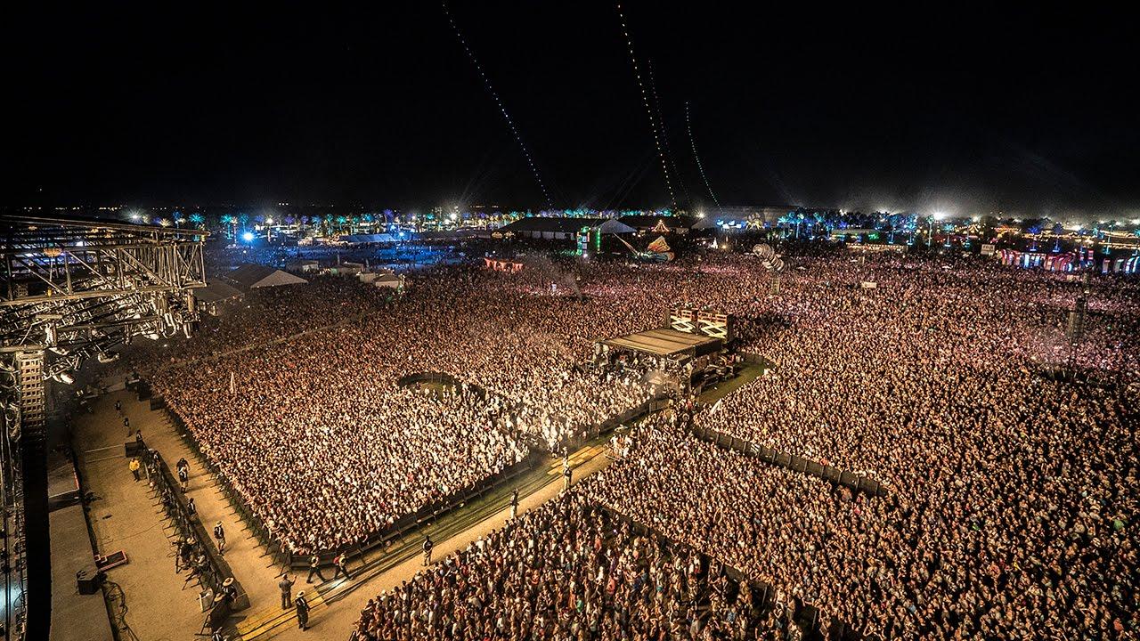 Kaskade Coachella 2015 Aerial Drone Footage
