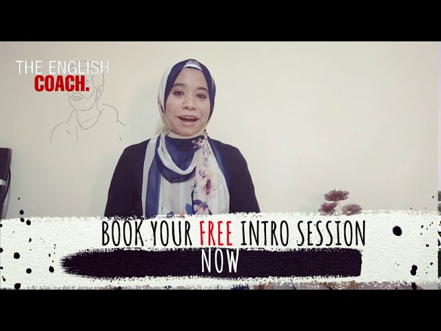 The English Coach: Start today!