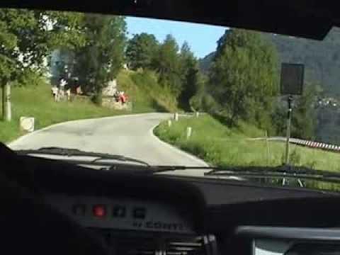 CAMERA CAR - 10° RALLY LECCO 2006 - PAROLI - CIVICCHIONI - P.S. PARLASCO