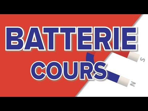Batterie Cours -