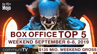 TOP 5: Box Office (US) Weekend September 6-8 | Charts 2019