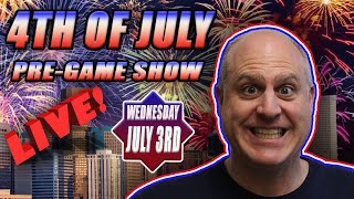 4th of July PRE-GAME Show! Early Independence Day SLOT JACKPOTS! 🇺🇸