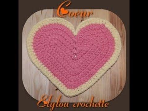 Tuto Crochet Un Coeur Facile Et Sympa