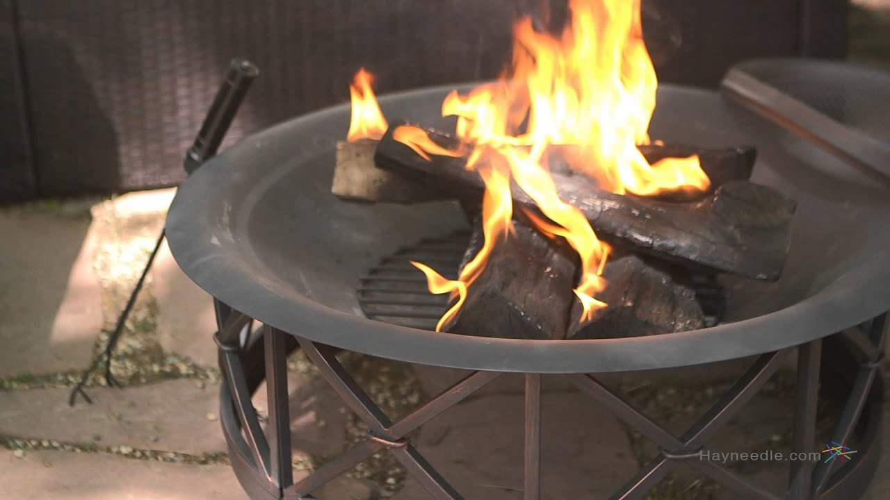 Outdoor Küche Fire Magic Fire Sense 30 In Portsmouth Black Fire Pit Product Review Video