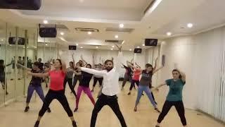 Aerobics dance moves