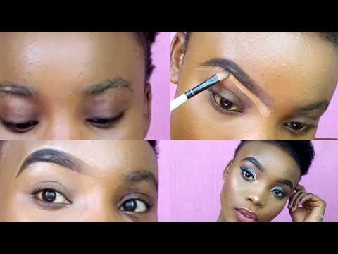 detailed beginner eyebrow tutorial/eyebrow pencil/dubois