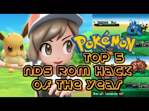 Top 5 Pokémon NDS Rom Hacks Of The Year! - YouTube