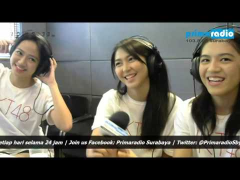 JKT48 Live Video Streaming At 103.8 FM Prima Radio Surabaya 2 Agustus 2016 HD