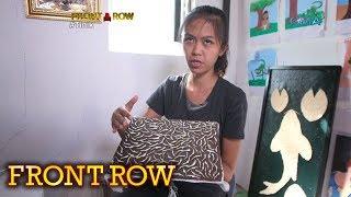 Front Row: Babaeng gumagawa ng obra gamit ang mga tinik ng isda, kilalanin!