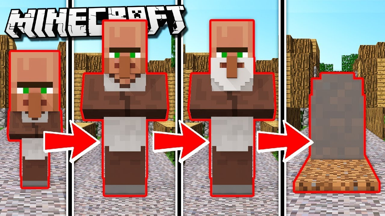 If villagers got older in minecraft youtube if villagers got older in minecraft sciox Images