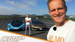 Hypersport-Cabrios - Lamborghini Aventador SVJ vs. McLaren 720S I GRIP