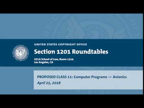 Seventh Triennial Section 1201 Rulemaking Hearings: Los Angeles, CA (April 25, 2018) Prop. Class 11