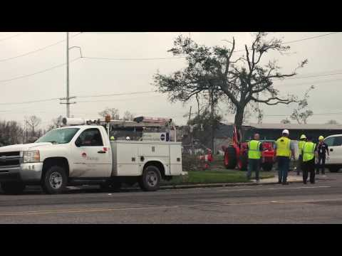 Tornado Recovery Ongoing at NASA's Michoud Assembly Facility, New Orleans LA