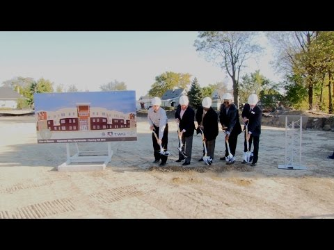 Apperson Way Apartments ground breaking