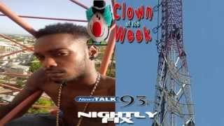 Clown of the Week [Aug8-14 2014]: Ikon D Link (suicidal artiste) - Nightly Fix NewsTalk93FM
