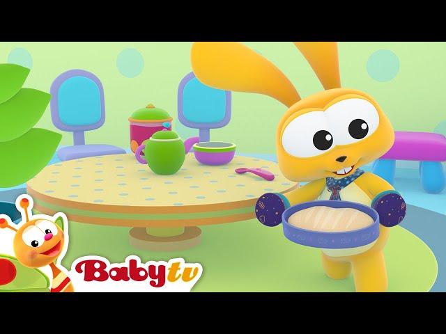 Mulberry Bush  (Remastered with Lyrics) | Nursery Rhymes & Songs for Kids | BabyTV