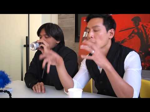 """""""Into the Badlands"""" starring Daniel Wu with executive producer Stephen Fung"""