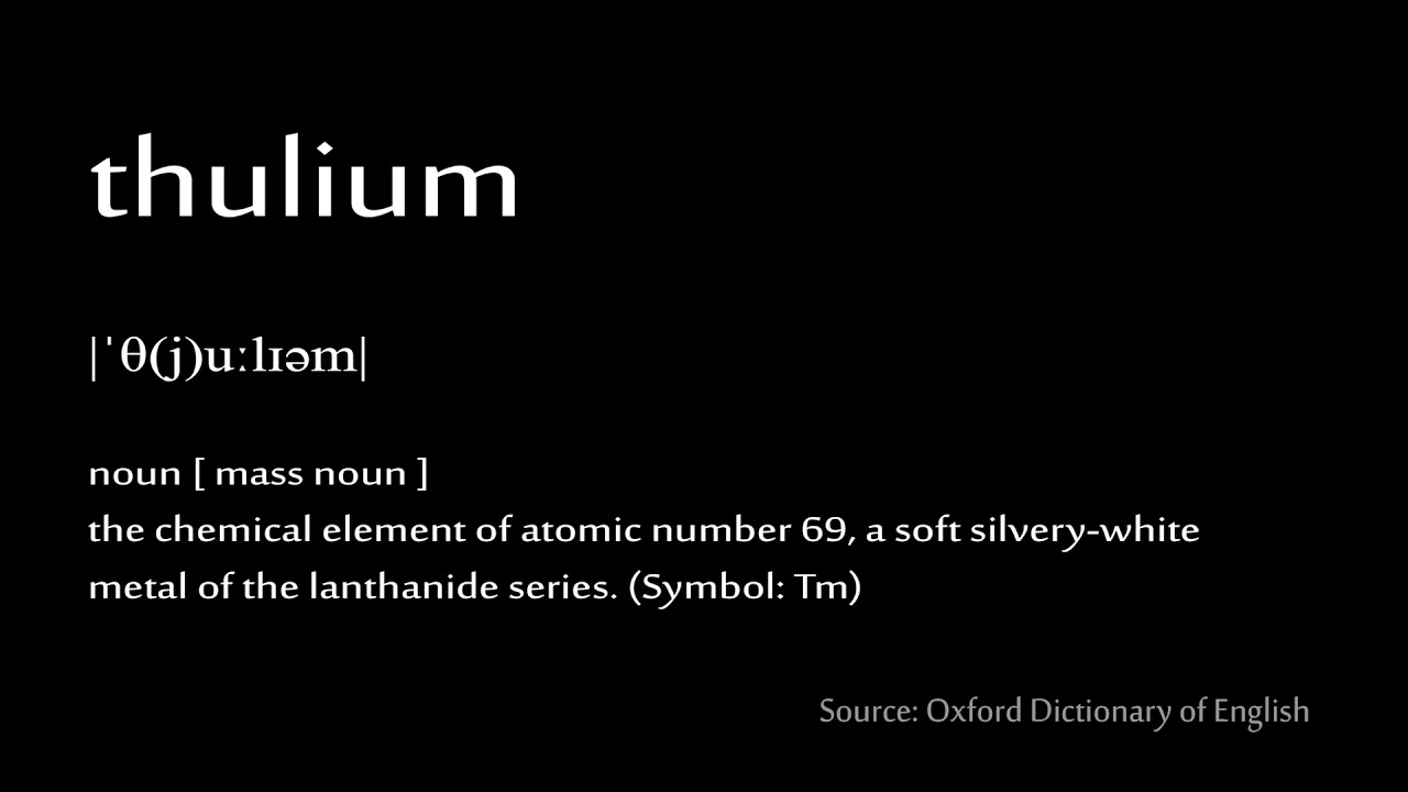 69 thulium how to pronounce chemical elements periodic table 69 thulium how to pronounce chemical elements periodic table urtaz Choice Image