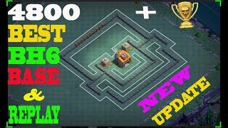 Best Builder Hall 6 Base Design | clash of clans bh6 base layout | coc update 2018