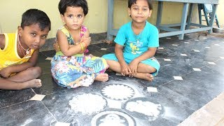 Beautiful Rangoli Designs without Dots by Lithika and her Friends