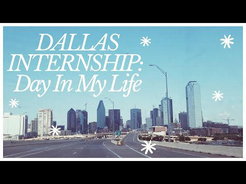 Dallas Summer Internship / Day In The Life / DLM Supply
