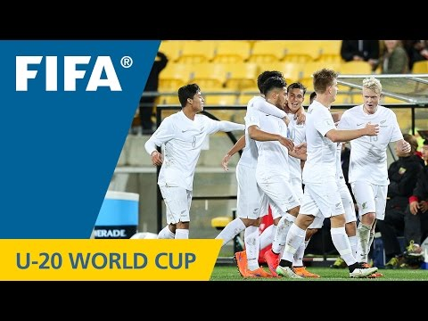 Myanmar v. New Zealand - Match Highlights FIFA U-20 World Cup New Zealand 2015