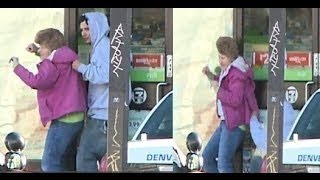 Denver 7 Eleven Hostage Standoff Sniper downs robber holding terrified female
