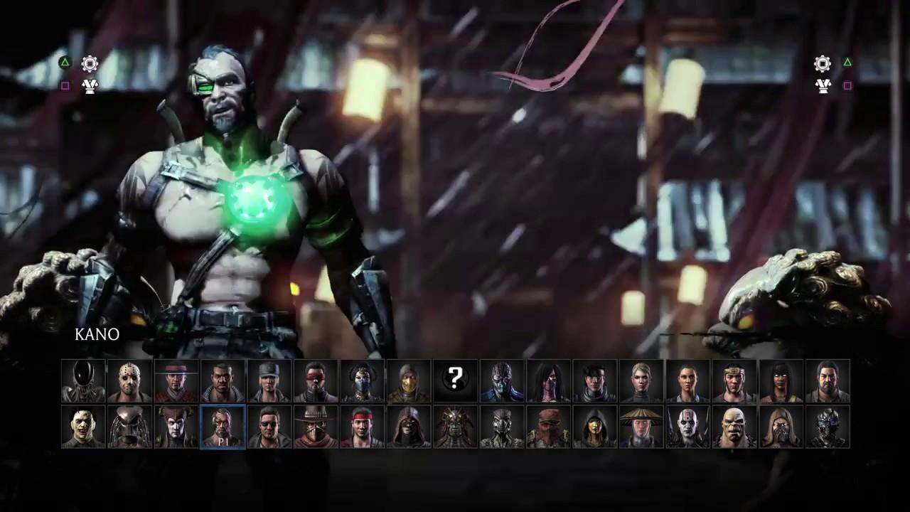 Mortal Kombat Xl All Characters Variations Youtube