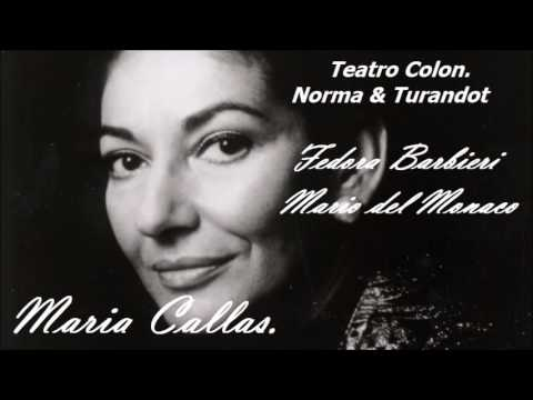 Maria Callas al Teatro Colón.